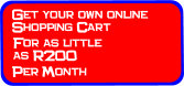 SA Online - Manage you own Online Shopping-Cart / Point-of-Sale.